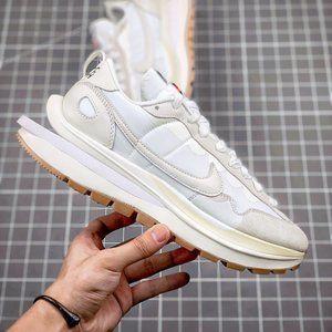 "sacai x Nike vaporwaffle ""White Sail"" brand new sneakers"